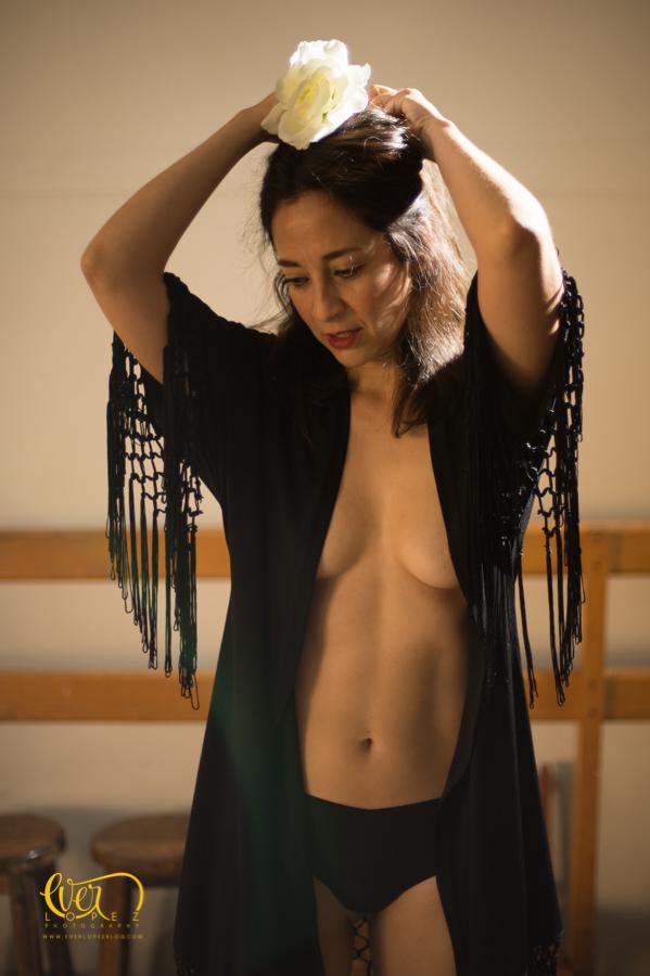 fotos bailarina Guadalajara en lenceria
